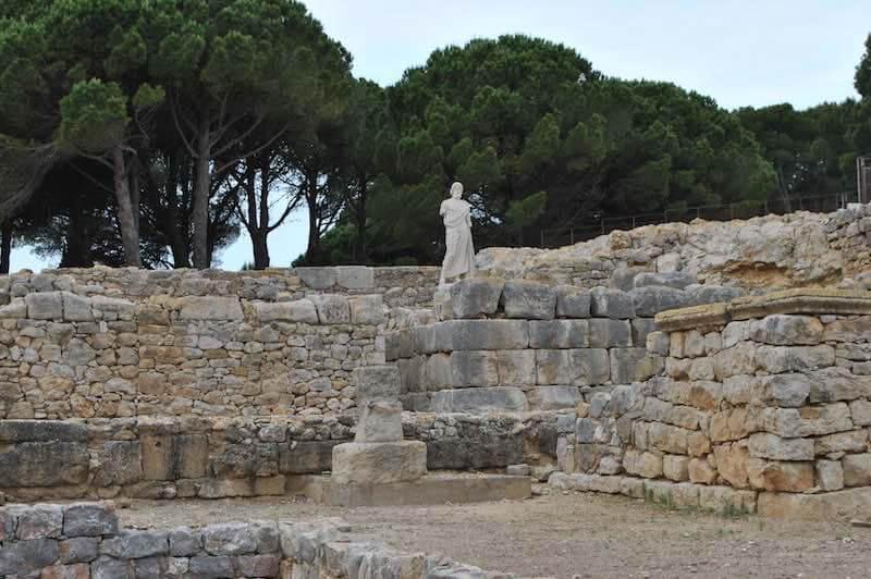 Recinto de Asclepio Ruinas dempuries