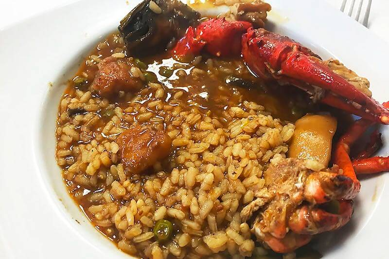 Restaurante el Ancora Donde comer en Port de la Selva