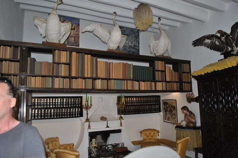 Biblioteca entrada