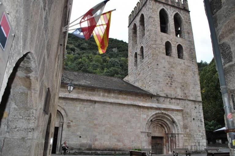 Iglesia de Saint Jaques de Villefranche de Conflent
