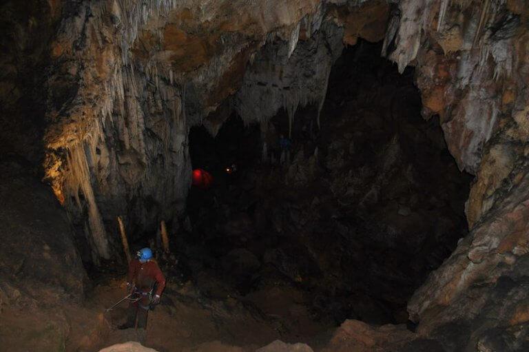 La sima grottes des canalettes
