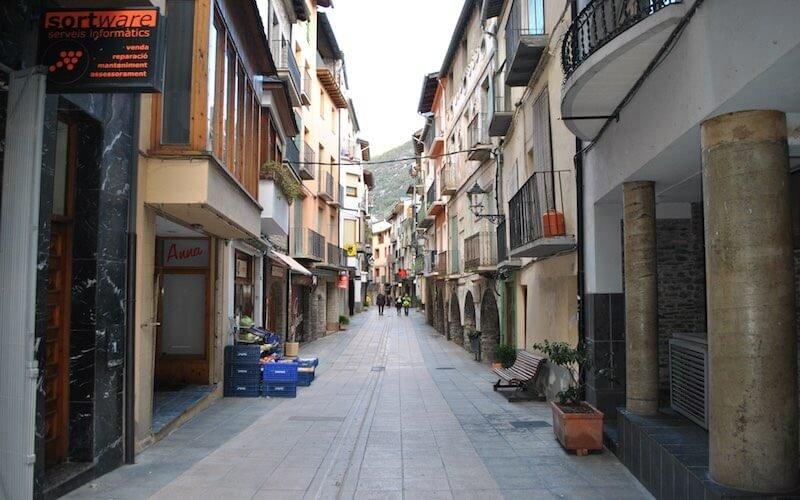 Calle Mayor de Sort