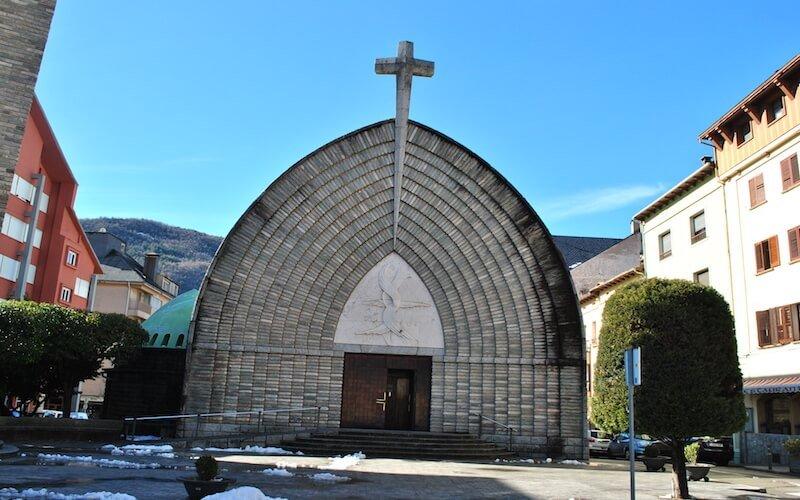Iglesia de la Asunción en Pont de Suert