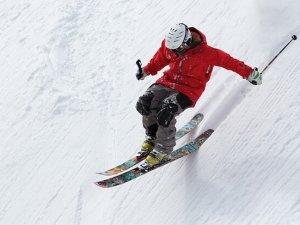 Esquiador en la Molina