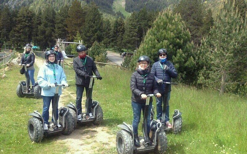 Excursión con Segway en La Molina